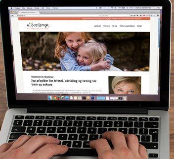 Hjemmeside for d'Sveistrup